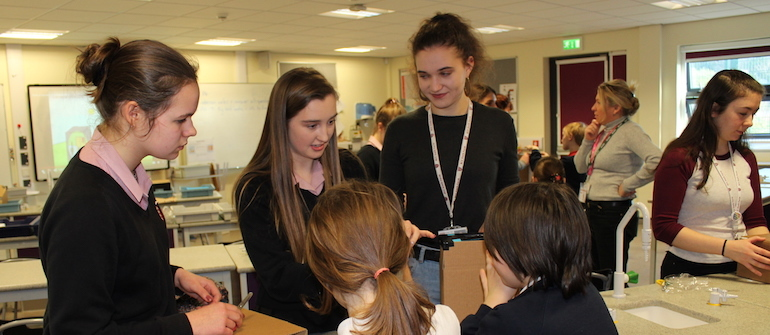 Girls in Physics initiative proves successful at Kingsbridge Academy