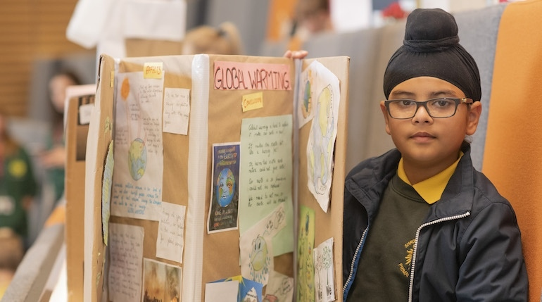 Leamington Spa Primary Partnership, Science Fair, Warwick University