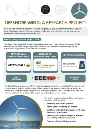 Offshore wind: a research project
