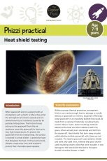 Phizzi practical: heat shield testing