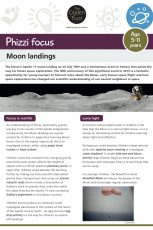 Phizzi focus: Moon landings