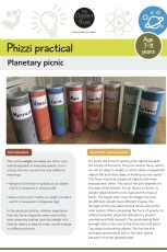 Phizzi practical: planetary picnic