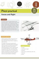 Phizzi practical: forces and flight