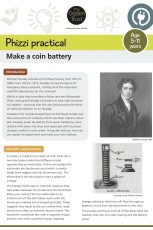 Phizzi practical: coin battery