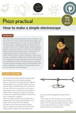 Phizzi practical: electroscope