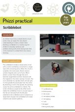 Phizzi practical: scribblebot