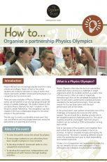 How to organise a partnership Physics Olympics