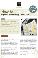 How to organise a partnership science fair