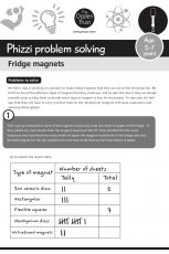 Phizzi problem solving: fridge magnets