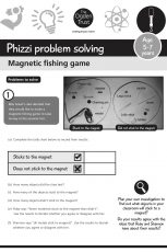 Phizzi problem solving: magnetic fishing game