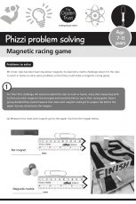 Phizzi problem solving: magnetic racing game