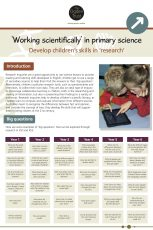 Working Scientifically: Research
