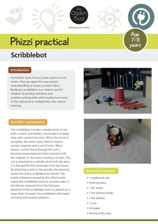 Phizzi practical: scribblebot | The Ogden Trust