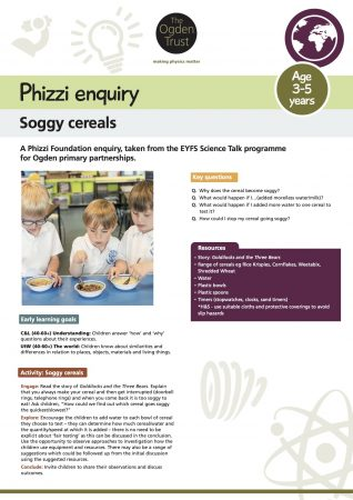 Phizzi enquiry: soggy cereals