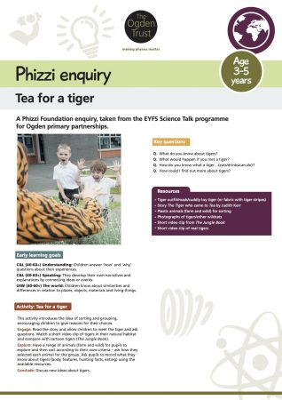 Phizzi enquiry: tea for a tiger