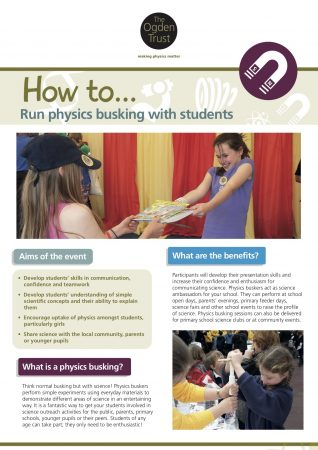 How to run physics busking with students